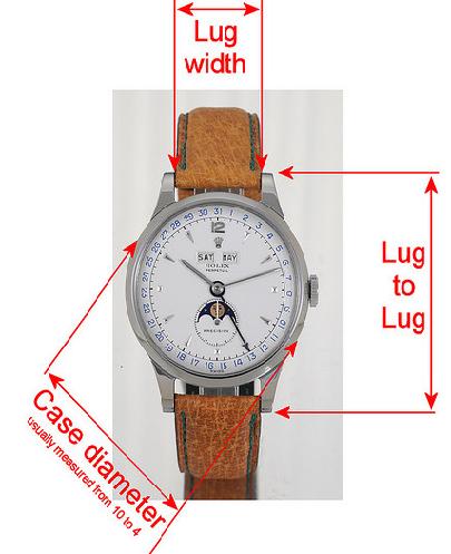 watch measurement